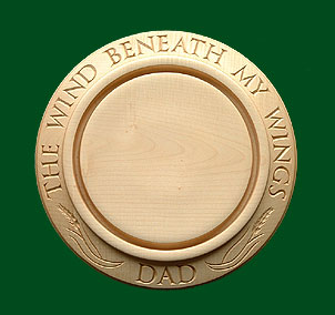 Dad's bread board - Commemorative
