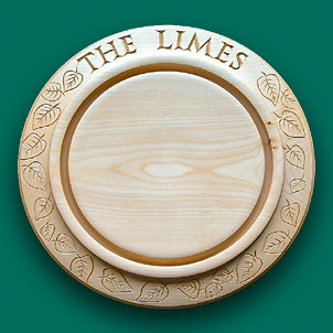 "A bread board for ""The Limes"""