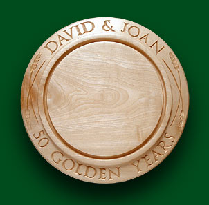 David & Joan - Breadboard for Anniversaries