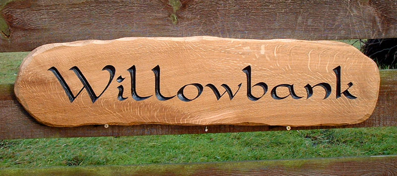 House Signs The Woodcarver